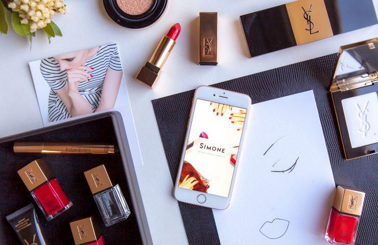 Maquillage Simone x Yves Saint Laurent Beauté