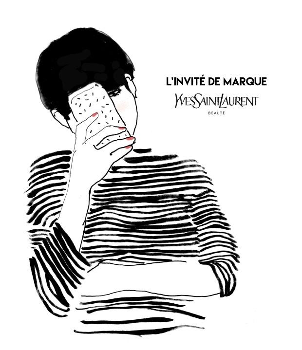 SimonexYSL par Anne Laure El Ghozi